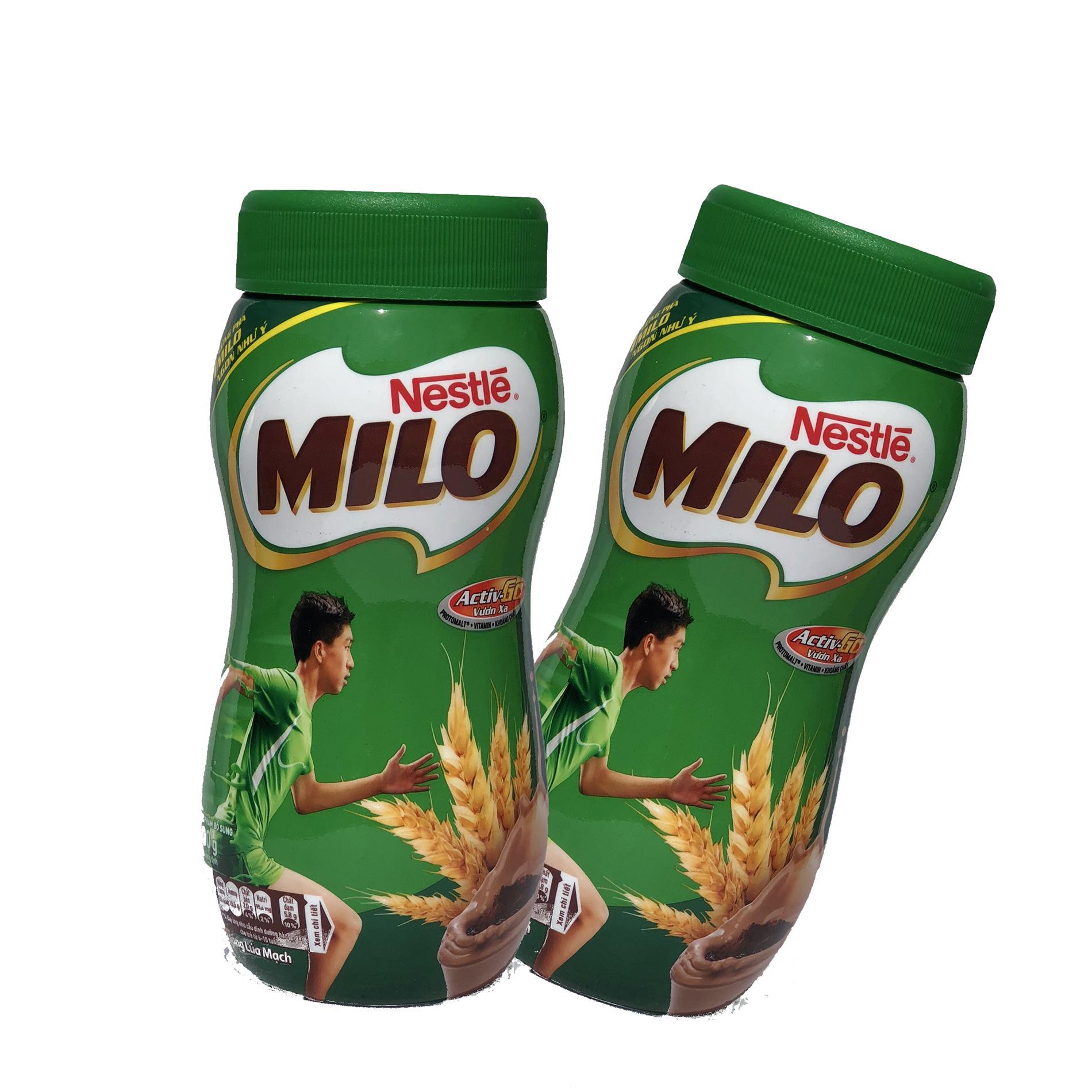 Sữa Bột Milo Nguyên Chất Combo 2 hủ x 400g