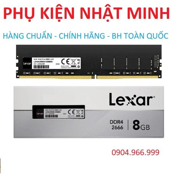 Bảng giá [BÁN CẮT LỖ] Ram PC Lexar 8GB DDR4/ Bus 2666 hàng chính hãng bảo hành 3 năm lỗi đổi mới Phong Vũ