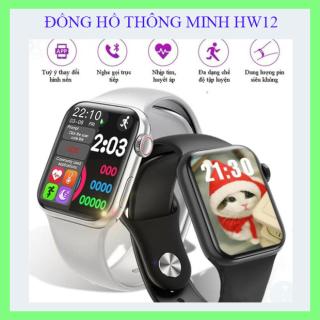 [SIÊU PHẨM HW 12]Đồng hồ thông minh, đồng hồ nam nữ, đồng hồ thời trang-Nhiều tính năng ưu việt với nhiều chương trình khuyến mại thật hấp dẫn, BẢO HÀNH DÀI HẠN thumbnail
