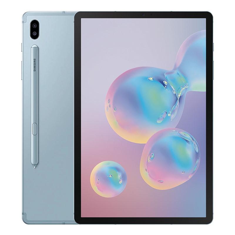 Máy tính bảng Samsung Galaxy Tab S6 (6GB/128GB)- Chip Snapdragon 855 8 nhân, Màn hình Super AMOLED, 10.5 kèm bút S-Pen Tặng Bao da kèm bàn phím Pin 7040mAh Hàng Chính Hãng - Bảo hành 12 Tháng chính hãng