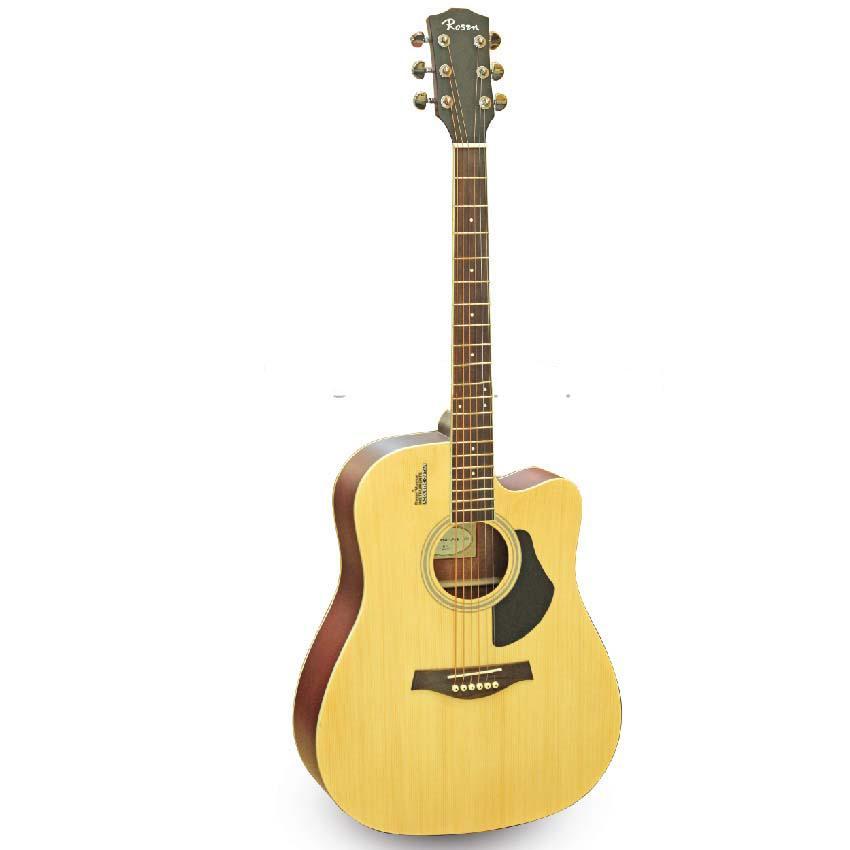 Đàn Guitar Acoustic Rosen Vàng G11 (Gỗ Thịt- Solid top) Tặng bao,capo,pic,ty chỉnh cần