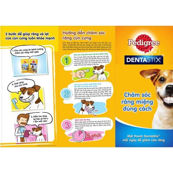 Xương làm sạch răng Pedigree 4 size - 5- 10kg