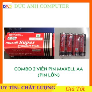 Pin MAXELL Combo 2 viên Pin 2A MAXELL 1.5V Chính Hãng Mới 100%- Gắn Hầu Hết Các Thiết Bị Điện Tử - Giá SỈ thumbnail