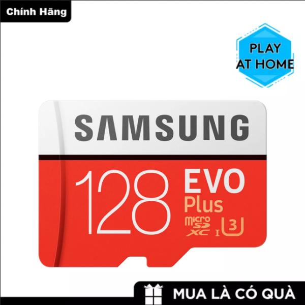 [ Giá Rẻ Bất Ngờ ] Thẻ nhớ MicroSDXC Samsung Evo Plus 128GB U3 4K R100MB/s W60MB/s - box Hoa New - Dành cho: Điện thoại, máy tính bảng