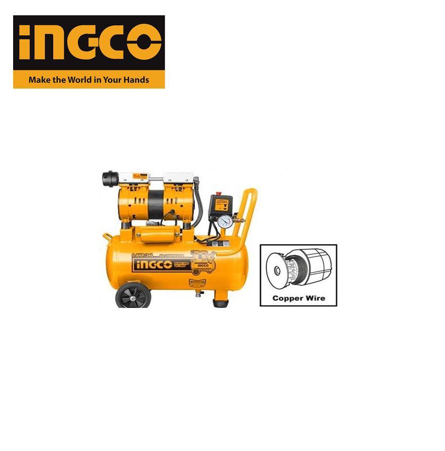 600W Máy nén khí không dầu 24L INGCO ACS175246T