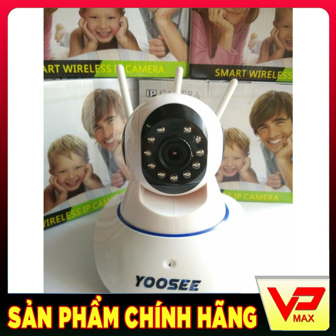 Camera Yoosee 3 anten wifi IP giám sát chuẩn HD 720P