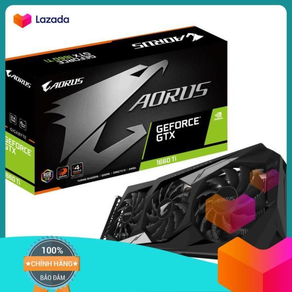 Bảng giá Card màn hình GIGABYTE AORUS GeForce® GTX 1660 Ti 6G Phong Vũ
