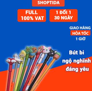 Bút bi viết hóa đơn Shoptida, nhiều màu dễ thương 0.5mm thumbnail