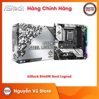 Bo Mạch Chủ Mainboard ASRock B460M Steel Legend - Hàng Chính Hãng thumbnail
