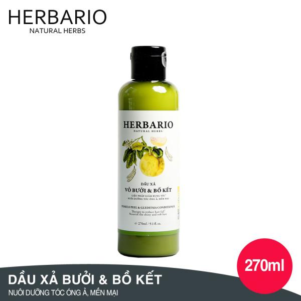 DẦU XẢ Vỏ Bưởi và Bồ Kết Herbario 270ml