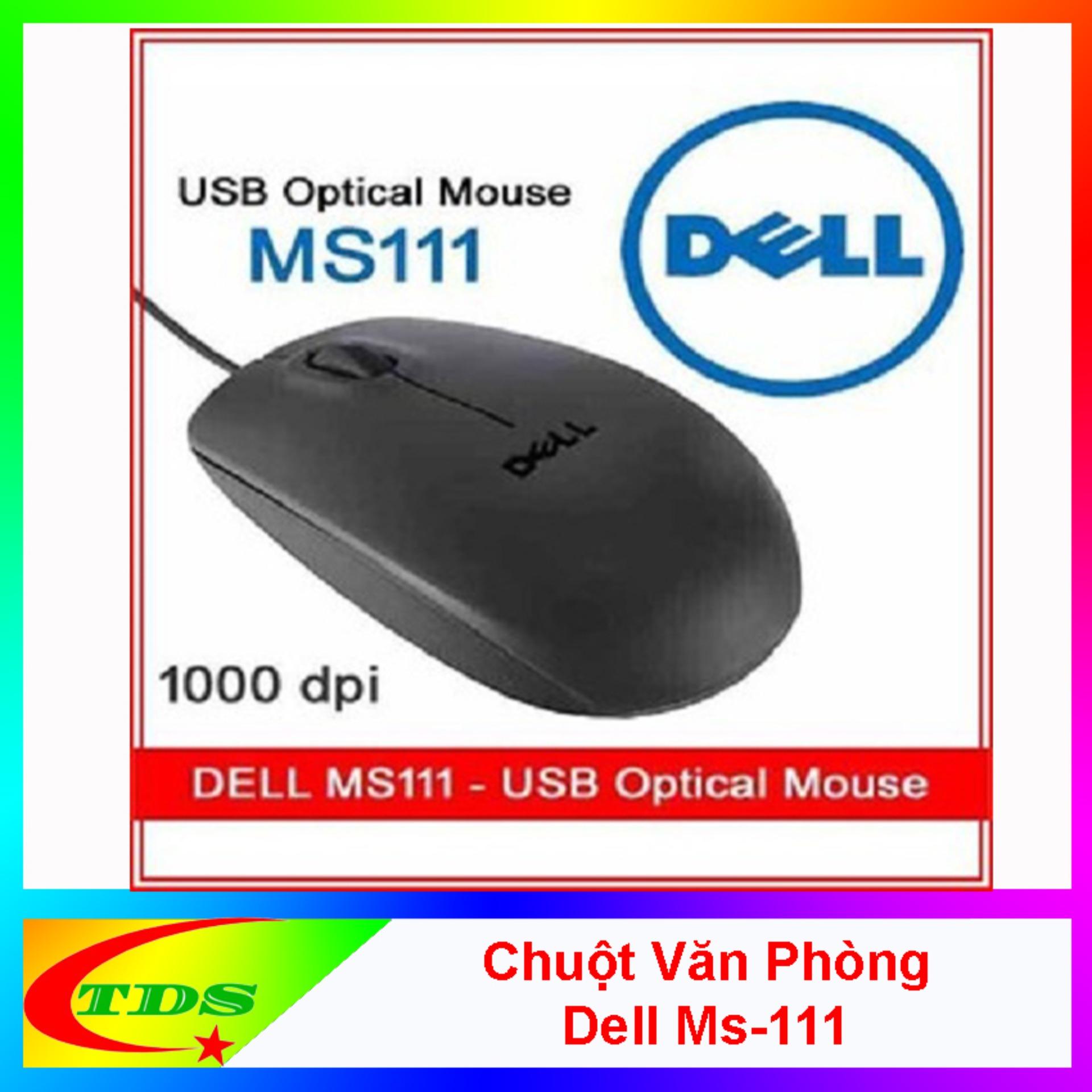 Chuột Máy Tính Dell MS111 Chính Hãng - BẢO HÀNH 1 ĐỔI 1 12 THÁNG Đang Ưu Đãi
