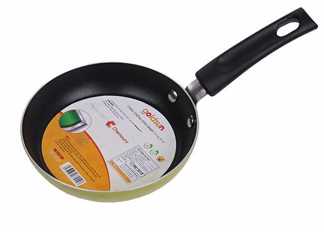 BD GOLDSUN - Vỉ nướng điện ceramic GYC1800 + Bình đun 1,8L 1218S, 1 chảo 14cm GC914