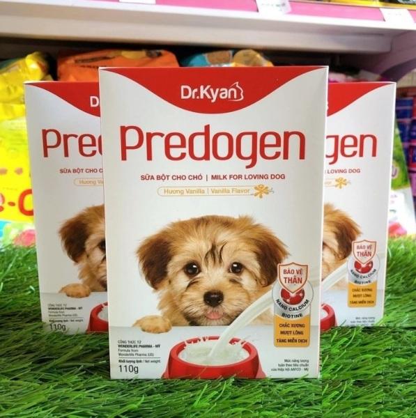 Sữa bột cao cấp cho chó, Sữa Dr.Kyan Predogen 110g