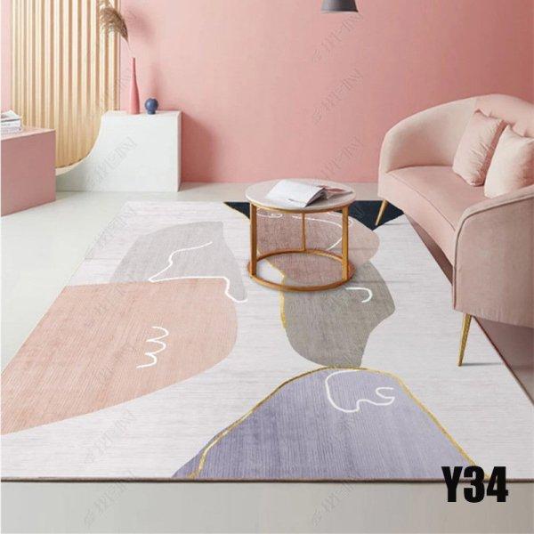 Thảm trải sàn trang trí họa tiết phong cách bali 5D