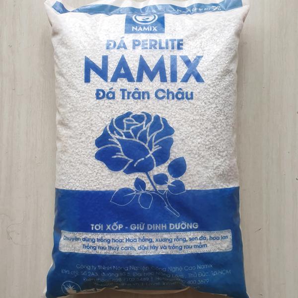 Đá Perlite Namix gói lớn 20dm3 giàu khoáng chất, giá thể trộn đất trồng cây hiệu quả
