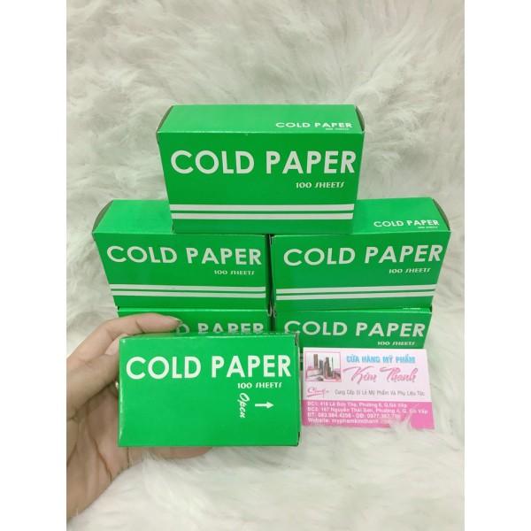Giấy uốn lạnh cold paper, cam kết hàng đúng mô tả, chất lượng đảm bảo an toàn đến sức khỏe người sử dụng