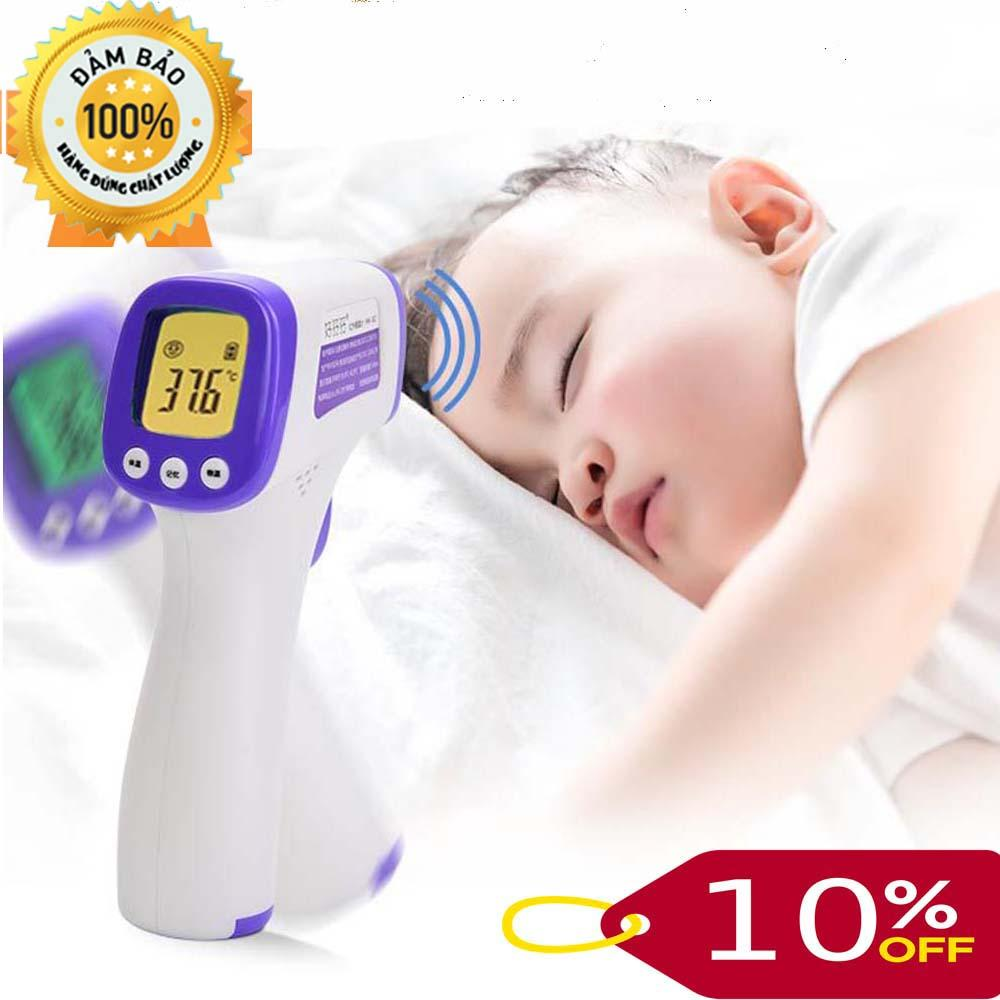 Máy đo nhiệt độ điện tử Simzo - Hàng Xuất khẩu, nhiệt kế hồng ngoại, đo nhiệt độ cơ thể, đo nhiệt độ nước sữa, thực phẩm cho bé chính hãng