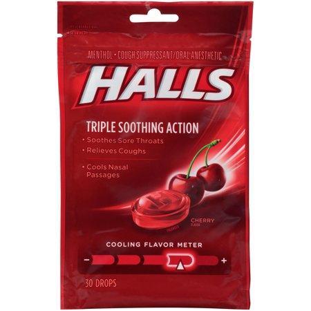 Kẹo ngậm Halls – cherry