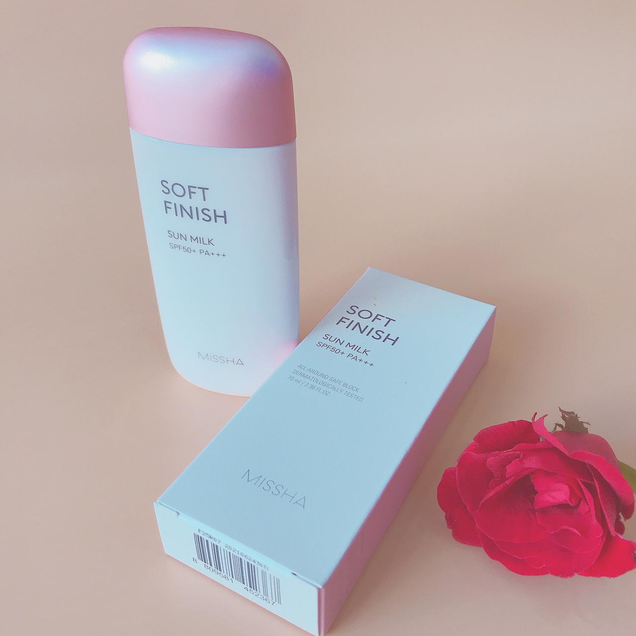 Kem Chống Nắng Missha All-around Safe Block Soft Finish Sun Milk SPF50+/PA+++ 70ml