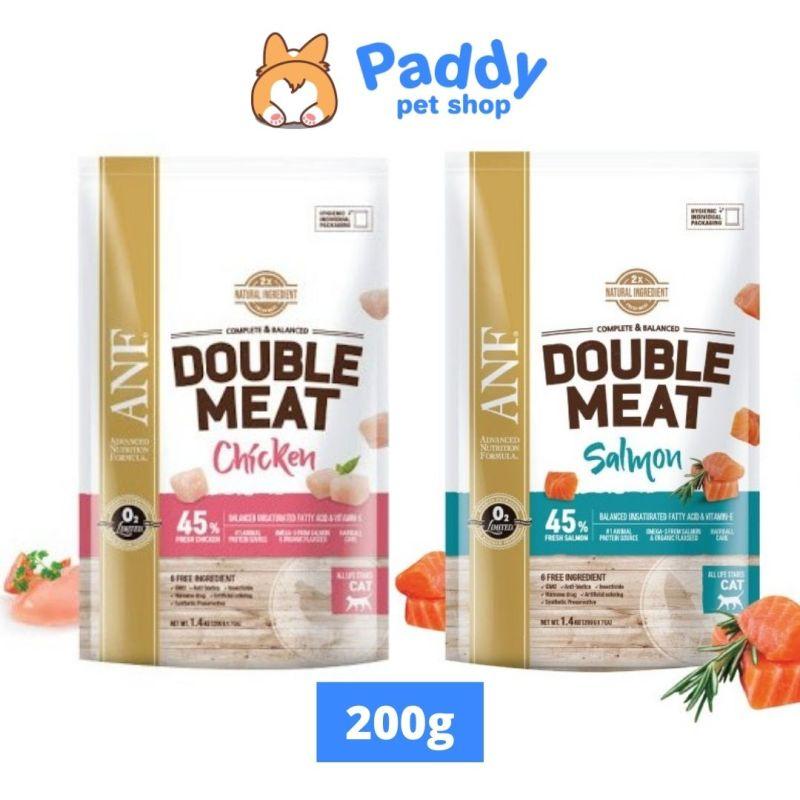 [200g] Hạt ANF Double Meat Gấp Đôi Thịt Cho Mèo - Vị Gà