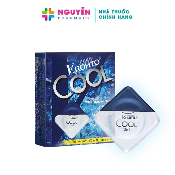 Nước nhỏ mắt V.Rohto Cool - Giảm mỏi mắt, đỏ mắt, ngứa mắt và khô mắt giá rẻ