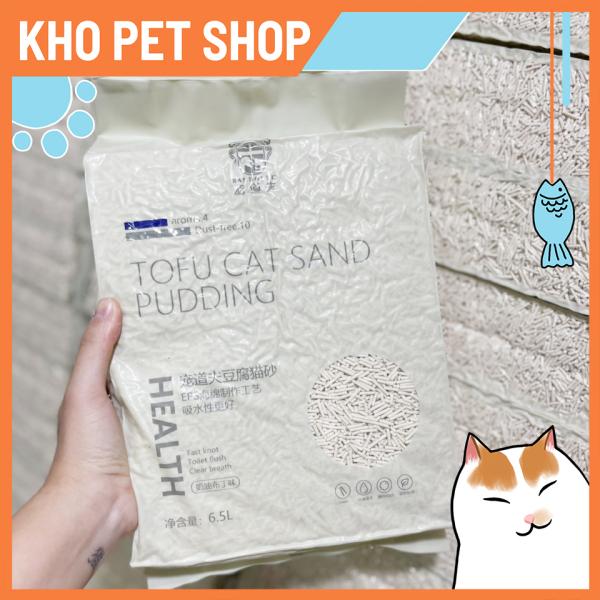 Cát đậu nành RANDOLPH 6,5L cho mèo