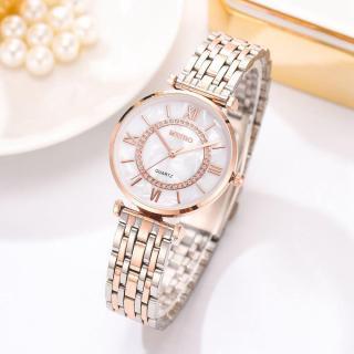 đồng hồ nữ meibo cao cấp kim loại khóa cài thumbnail