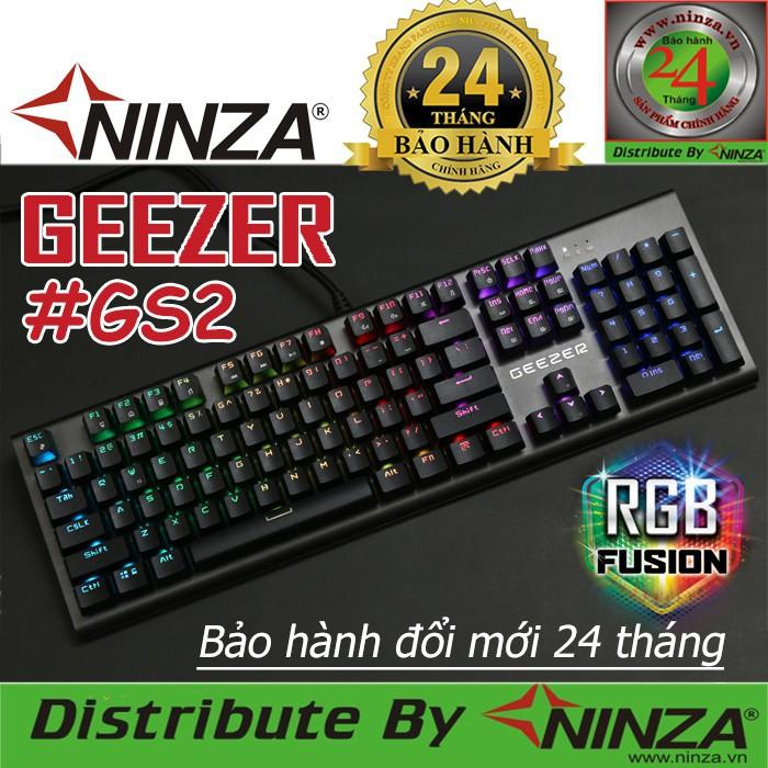 BÀn phím cơ Geezer Gs2