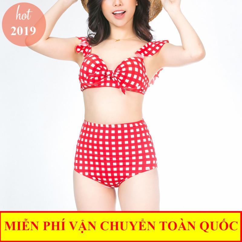 Nơi bán Đồ bơi 2 mảnh, bikini tắm biển, bộ bơi kẻ caro Việt Nam