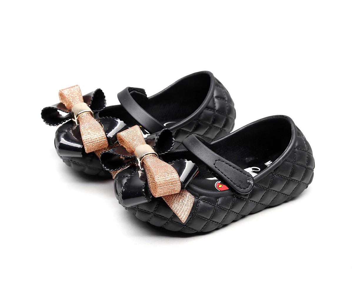 Giày búp bê đính nơ siêu mềm siêu dẻo cho bé gái