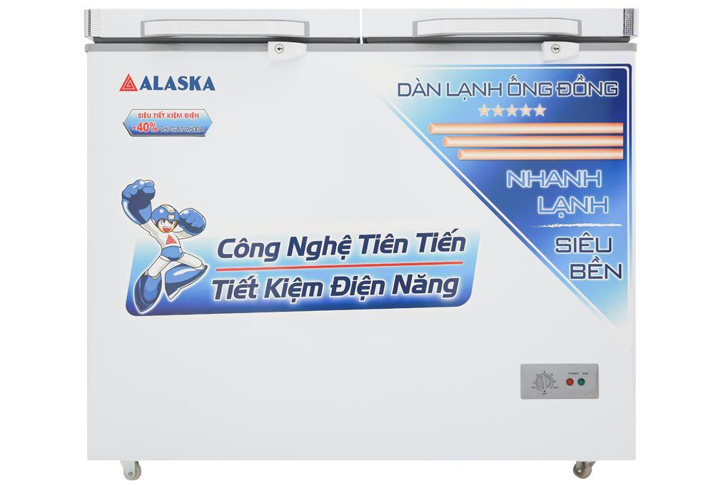 Giá Tủ đông Alaska 250 lít BCD-3068C