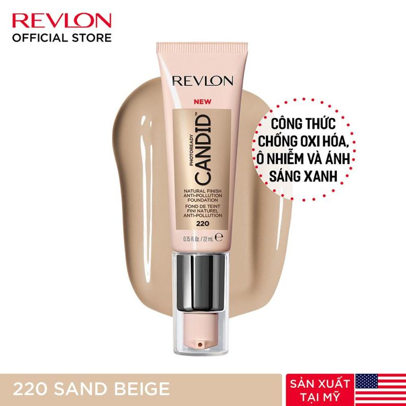 Kem nền chuyên nghiệp Revlon PhotoReady Candid™ Natural Finish Anti-pollution 22ml cao cấp