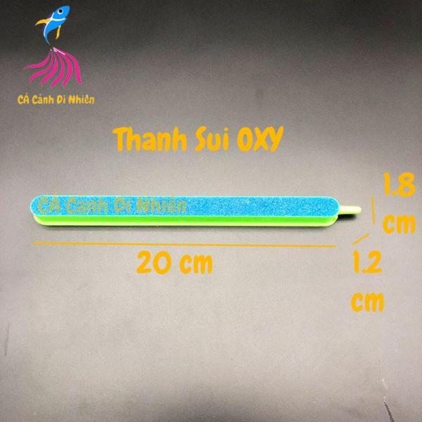 Thanh sủi Oxy Sôi Xanh cho hồ cá cảnh size 20 cm