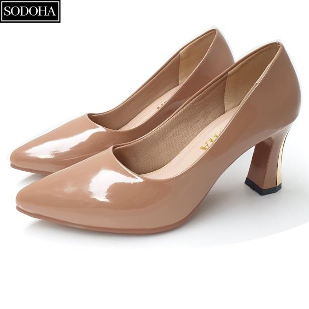 Giày cao gót nữ - giày công sở nữ - giày nữ SODOHA  SDH333 giá rẻ