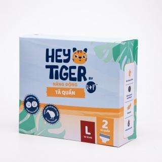 [DEAL SỐC][HÀNG DÙNG THỬ 3 MIẾNG] Tã Quần Hey Tiger - Size L cho bé từ 10kg - 15kg thumbnail
