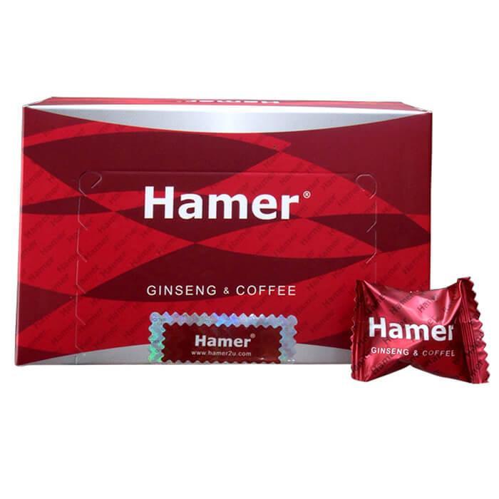 ( mau moi )Kẹo sâm Hamer  10 viên chính hãng