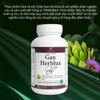 Viên uống giải độc Gan Herblux tăng cường chức năng gan thumbnail