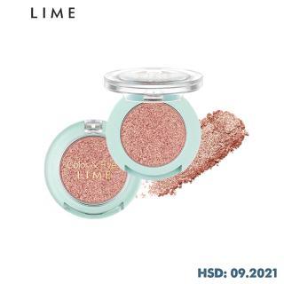 Phấn Mắt Nhũ Thời Thượng Lime Color & Eyes Single Sparkle 1.4g, mang đến cho bạn đôi mắt đẹp lấp lánh với sắc tố màu cao thumbnail