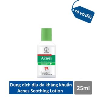 Dung dịch dưỡng dịu da kháng khuẩn và trắng da ngừa mụn Acnes Soothing Lotion 25ml - Hàng công ty thumbnail