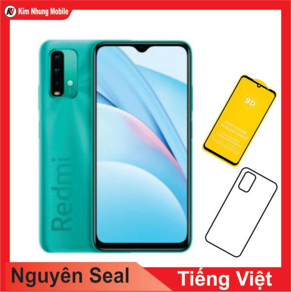 Điện Thoại Xiaomi Redmi Note 9 (Hỗ trợ 4G) 128 GB Ram 6GB + Cường Lực Kim Nhung - Hàng Nhập Khẩu