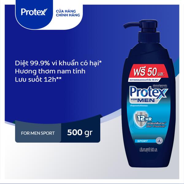 Sữa tắm diệt khuẩn Protex For Men Sport dành cho Nam 500ml/chai giá rẻ