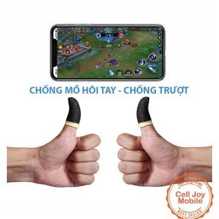 Găng Tay Chơi Game Chống Mồ Hôi -Bộ bao 2 ngón tay chuyên dụng chơi game mobile mềm thoáng khí thumbnail