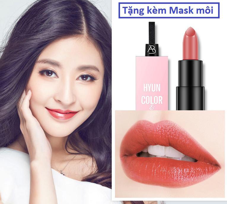 Son Hyun Siêu Lì Hồng San Hô (Tặng 01 Mask môi) tốt nhất