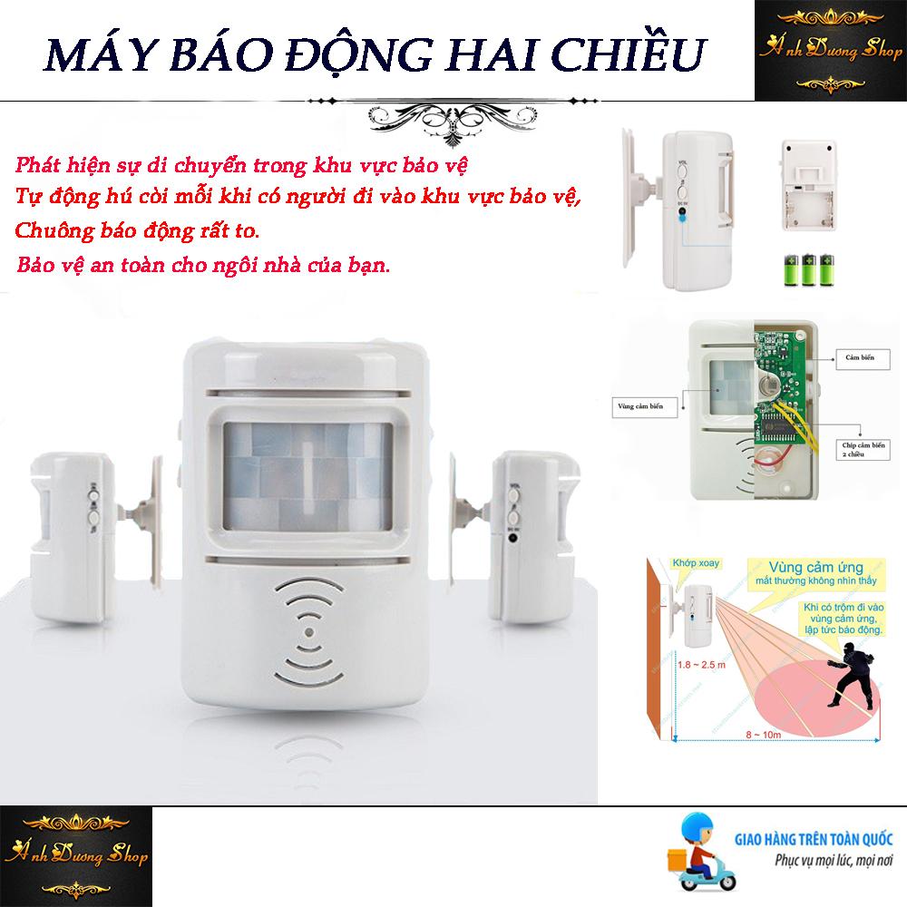 Chuông Báo khách, Chuông Chống Trộm, Chuông Báo ,Sản phẩm bán chạy trên thị trường hiện nay.Có khả năng cảm ứng hồng ngoại ,An toàn hiệu quả cho ngôi nhà bạn - BH 1 ĐỔI 1 - Giá Giảm Sốc  Chỉ Hôm Nay!