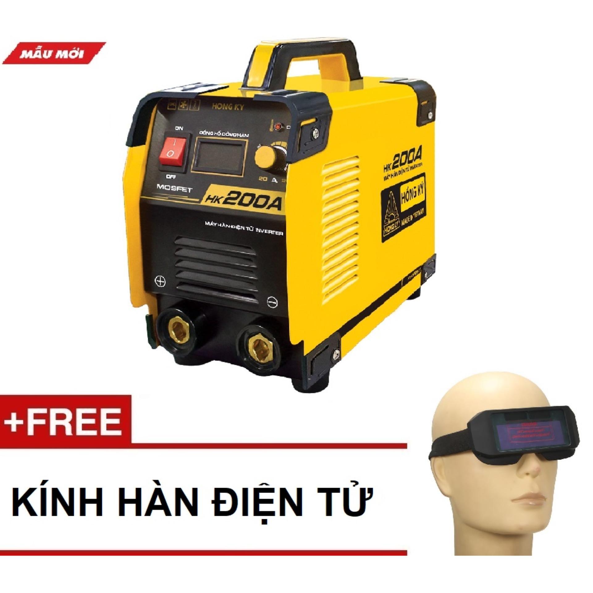 Máy hàn điện tử inverter Hồng Ký HK 200A[WM][HHK]