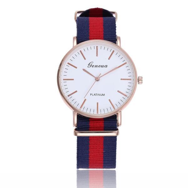 Đồng hồ thời trang Unisex dây vải nato Geneva PKHRGE057 (40 mm)