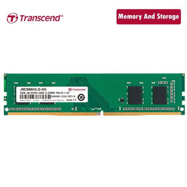 Bảng giá Ram Transcend DDR4 8GB 2666Mhz U-DIMM chính hãng Phong Vũ