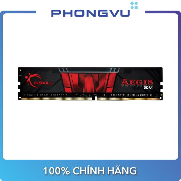 Bảng giá Bộ nhớ/ Ram DDR4 G.Skill Aegis 8GB (2666) F4-2666C19S-8GIS - Bảo hành 36 tháng Phong Vũ