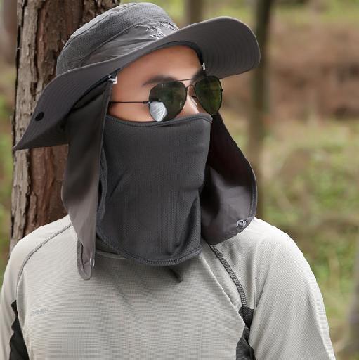 Mũ nón chống nắng, mũ nón đi câu, cắm trại cho Nam – chống tia UV – bảo vệ da đầu