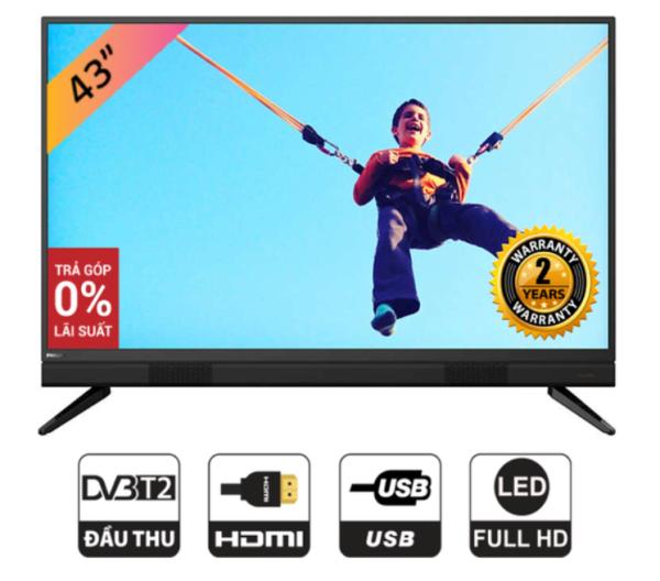 Bảng giá Tivi LED Philips 43 Inch Full HD - 43PFT5883/74